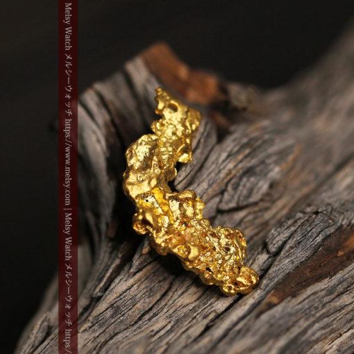 4.22gの細長いジュエリー向きの美しい自然金-G0445-1