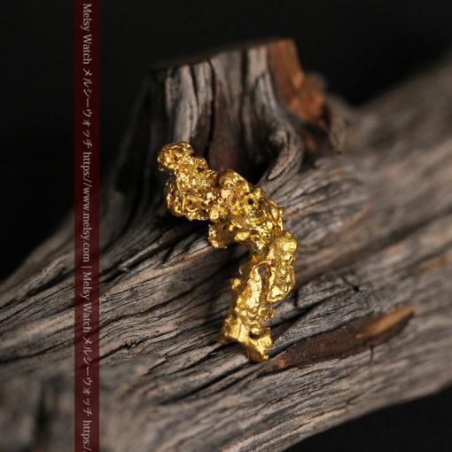 4.22gの細長いジュエリー向きの美しい自然金-G0445-2