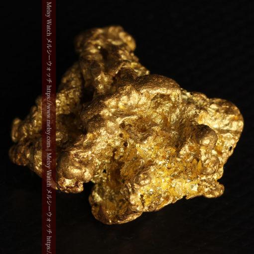 27.33gの立体感と貫禄のある大粒の自然金-G0446-16