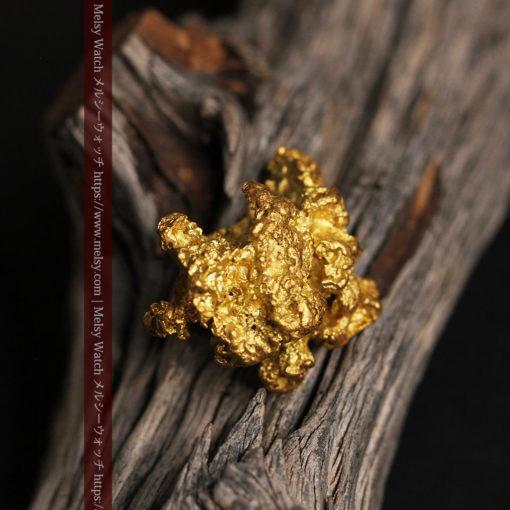 27.33gの立体感と貫禄のある大粒の自然金-G0446-2