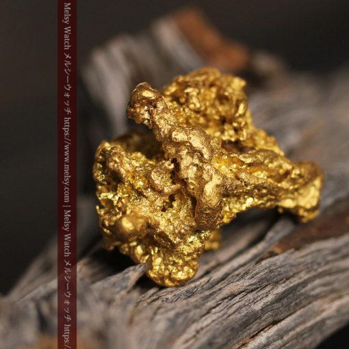 27.33gの立体感と貫禄のある大粒の自然金-G0446-3