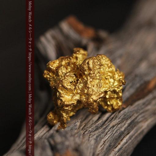 27.33gの立体感と貫禄のある大粒の自然金-G0446-4