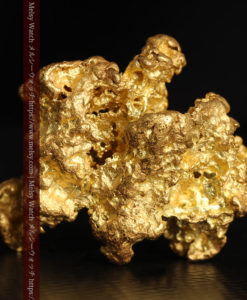 27.33gの立体感と貫禄のある大粒の自然金-G0446-6