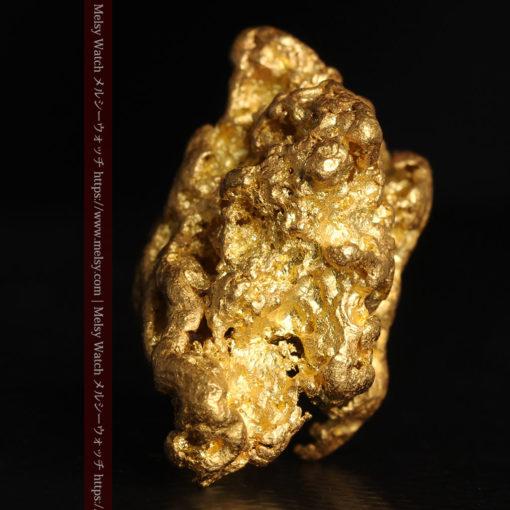 27.33gの立体感と貫禄のある大粒の自然金-G0446-7
