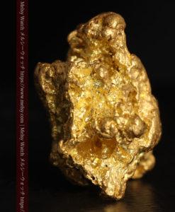 27.33gの立体感と貫禄のある大粒の自然金-G0446-8
