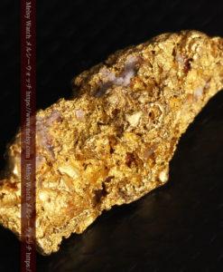 8.19gの複雑で多彩な表面の縦長の自然金-G0447-10