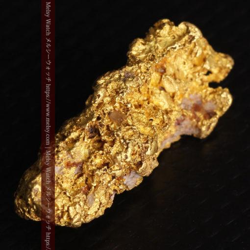 8.19gの複雑で多彩な表面の縦長の自然金-G0447-14