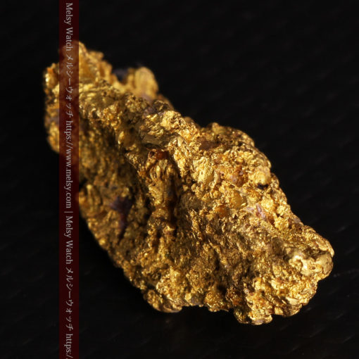 8.19gの複雑で多彩な表面の縦長の自然金-G0447-15