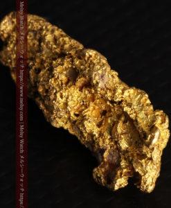 8.19gの複雑で多彩な表面の縦長の自然金-G0447-16