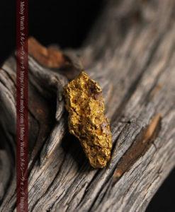 8.19gの複雑で多彩な表面の縦長の自然金-G0447-4