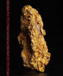 8.19gの複雑で多彩な表面の縦長の自然金-G0447-5
