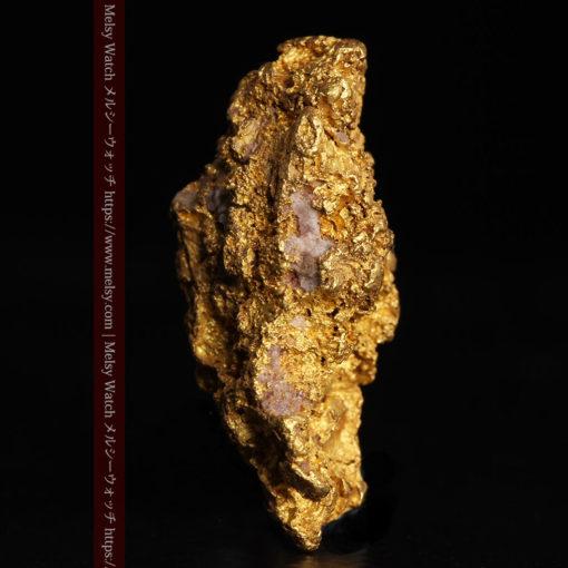 8.19gの複雑で多彩な表面の縦長の自然金-G0447-7