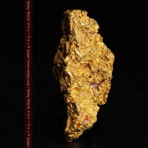8.19gの複雑で多彩な表面の縦長の自然金-G0447-8