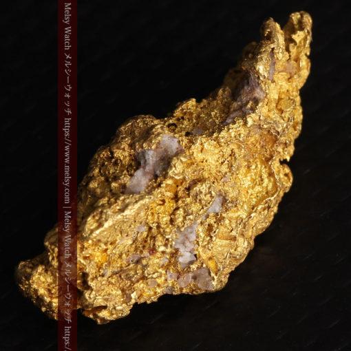 8.19gの複雑で多彩な表面の縦長の自然金-G0447-9