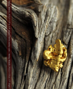 3.54gの複雑な凹凸ある形の綺麗な色合いの自然金-G0454-2