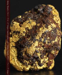 27.76gの鉄などを含む野趣あふれる大粒の自然金-G0456-2