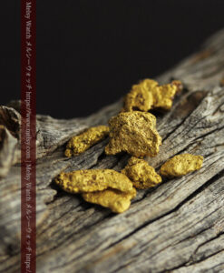 3.83gの個性ある形の自然金7点セット-G0457-1