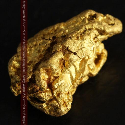 4.5gの細長い三角で複雑な深みのある形の自然金-G0462-11