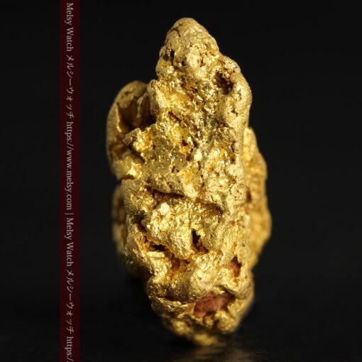 4.5gの細長い三角で複雑な深みのある形の自然金-G0462-6