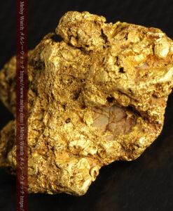 11.07gの野趣に溢れる大粒の自然金-G0464-13