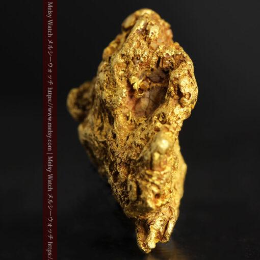11.07gの野趣に溢れる大粒の自然金-G0464-3