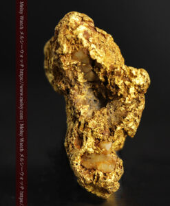 11.07gの野趣に溢れる大粒の自然金-G0464-4