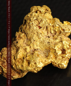 11.07gの野趣に溢れる大粒の自然金-G0464-8