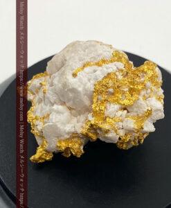 147gの綺麗な石英を含む特大自然金-G0465-1