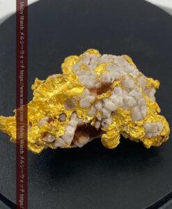 73gの石英の入り方が綺麗な大きな自然金-G0466-1