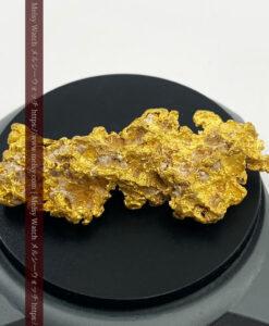 158gの少し長めで凹凸の綺麗な大きな大型自然金-G0467-1