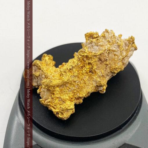 238gの石英の入り方など天然のらしさある特大自然金-G0468-1