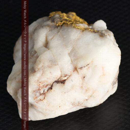 34.1gの大きな自然金から湧き出すような自然金-G0473-12