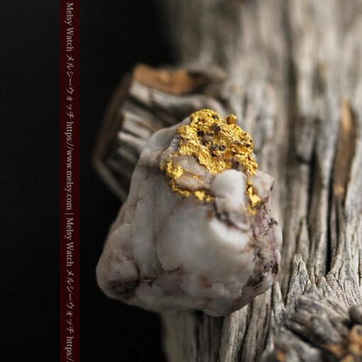 34.1gの大きな自然金から湧き出すような自然金-G0473-2