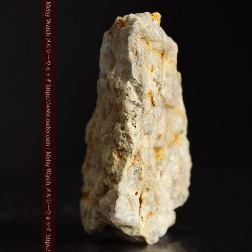 14.9gの石英の中に入り混じる特殊な姿の自然金-G0474-2