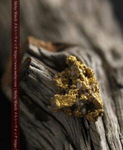 8.4gの石英の粒などインクルージョンの面白い自然金-G0476-15