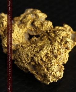 8.4gの石英の粒などインクルージョンの面白い自然金-G0476-8