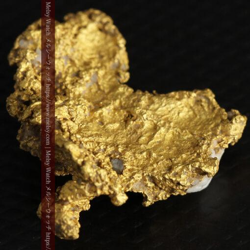 11.1gの海岸のカメノテのような石英を含んだ自然金-G0477-10