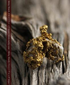 11.1gの海岸のカメノテのような石英を含んだ自然金-G0477-13