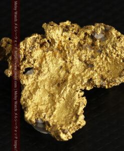11.1gの海岸のカメノテのような石英を含んだ自然金-G0477-9