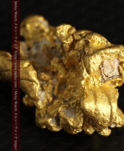 7.78gの煌びやかに輝く色合いの綺麗な自然金-G0478-10