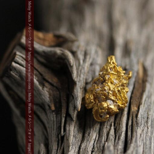 7.78gの煌びやかに輝く色合いの綺麗な自然金-G0478-13