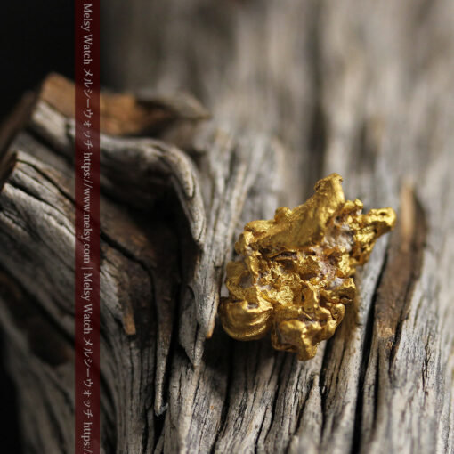 7.78gの煌びやかに輝く色合いの綺麗な自然金-G0478-14