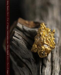 7.78gの煌びやかに輝く色合いの綺麗な自然金-G0478-15