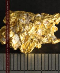 7.78gの煌びやかに輝く色合いの綺麗な自然金-G0478-16