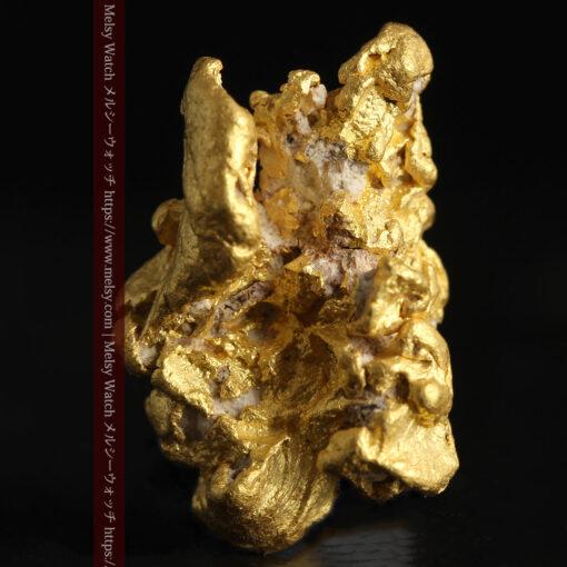 7.78gの煌びやかに輝く色合いの綺麗な自然金-G0478-2