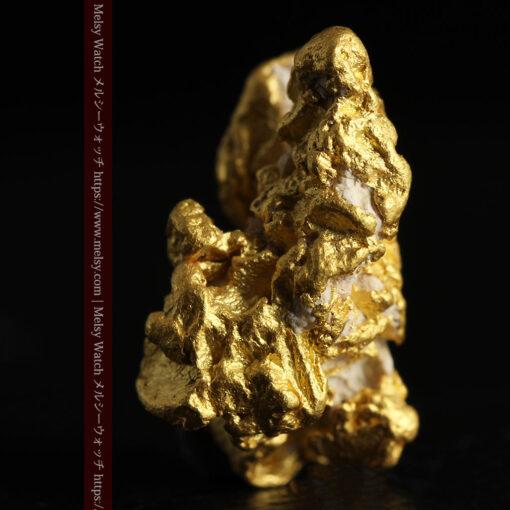 7.78gの煌びやかに輝く色合いの綺麗な自然金-G0478-3
