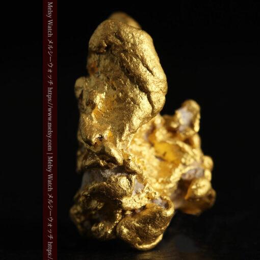 7.78gの煌びやかに輝く色合いの綺麗な自然金-G0478-4