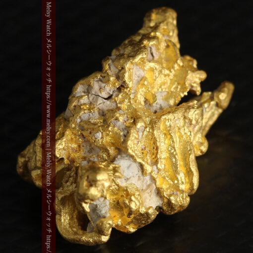 7.78gの煌びやかに輝く色合いの綺麗な自然金-G0478-5