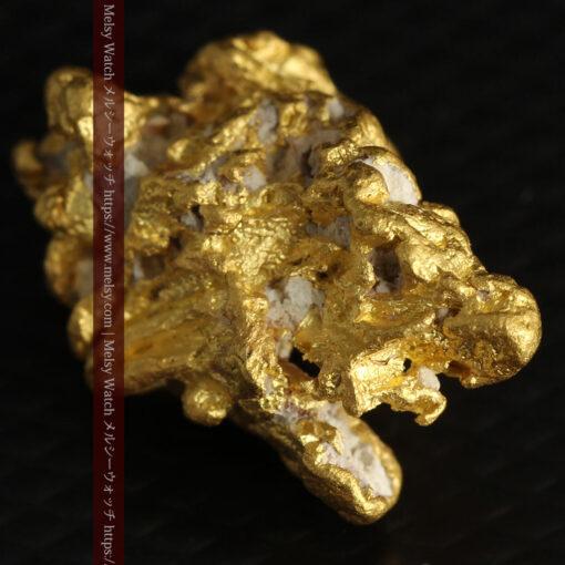 7.78gの煌びやかに輝く色合いの綺麗な自然金-G0478-8