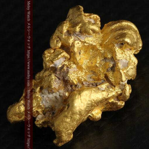 7.78gの煌びやかに輝く色合いの綺麗な自然金-G0478-9